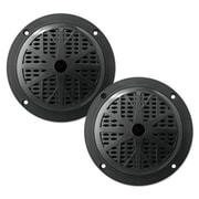 "Pyle Marine Audio 4"" Dual Cone Waterproof Stereo Speaker System, Black (PLMR41B)"