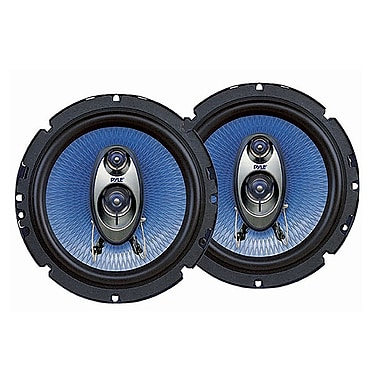 Pyle 6.5'' Automotive Three-Way Speakers 360W (PL63BL)