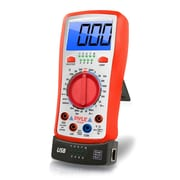 Pyle Digital LCD Multimeter with USB and Ethernet Cable Testing (PLTM40)