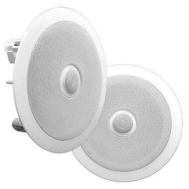 Pyle - Haut-parleur de plafond Pro à 2 voies, 8 po, 300 W (PDIC80)