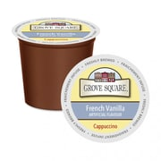 Grove Square™ French Vanilla Cappuccino Mix, 24/Pack