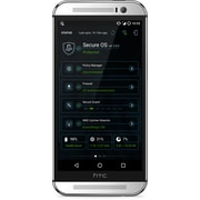 "Secure Phone Refurbished HTC 5.2"" Unlocked Cell Phone, 16 GB, 2.5 GHz 418 Adreno GPU, Hexa-core CPU, Secure OS 2.2.0, Grey/Black"