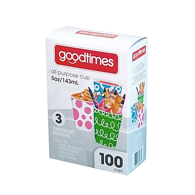 Goodtimes™ All Purpose Paper Cup, 5oz, 100/Pack