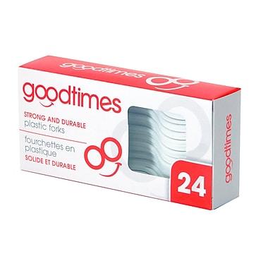 Goodtimes - Fourchettes en plastique, paq./24