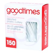 Goodtimes Party Pack Assorted Cutlery, 150/Pack