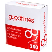 Goodtimes Plastic Knives, 250/Pack