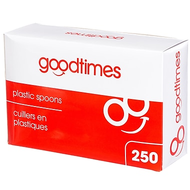 Goodtimes™ Stackables Plastic Spoons, 250/Pack