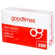Goodtimes Stackables Plastic Spoons, 250/Pack