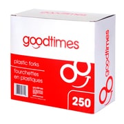Goodtimes™ Stackables Plastic Forks, 250/Pack