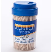 Goodtimes™ Round Toothpicks, 250/Pack