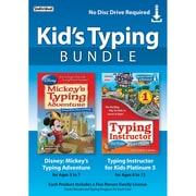 Ensemble de logiciels de dactylo pour enfants Kid's Typing Bundle, Windows, anglais [téléchargement]