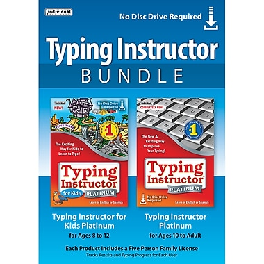 Typing Instructor Bundle, Windows [Download]