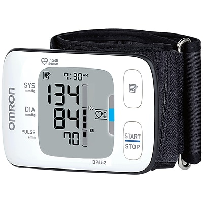 Omron® 7 Series™ Wrist Blood Pressure Monitor, White
