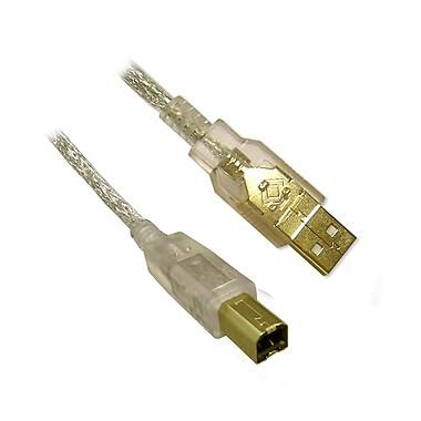 BlueDiamond USB 2.0 AB Cable M/M - CL, 15ft, (6161)