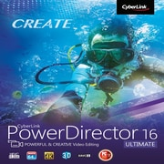 CyberLink PowerDirector 16 Ultimate, Windows [Download]