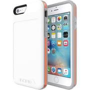 Incipio [Performance] Series Level 4 Carrying Case (Holster) for iPhone 6, iPhone 6S, White, Orange