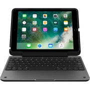 "Incipio ClamCase Pro Keyboard/Cover Case for 9.7"" iPad Pro (2017), Black, Smoke (IPD-390-BSMK)"