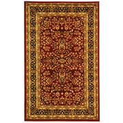 "Safavieh Lyndhurst Area Rug, 39"" x 63"", Red/Black (LNH214A-3)"