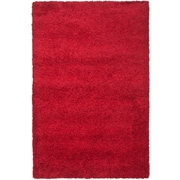 "Safavieh California Shag Area Rug, 80"" x 115"", Red (SG151-4040-7)"