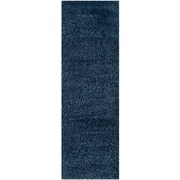 "Safavieh California Shag Runner, 27"" x 84"", Navy (SG151-7070-27)"