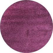 Safavieh California Shag Round Area Rug, Purple, 4' x 4' (SG151-7373-4R)