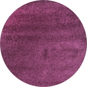 "Safavieh California Shag Area Rug, 80"" x 80"", Purple (SG151-7373-7R)"