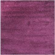 "Safavieh California Shag Area Rug, 80"" x 80"", Purple (SG151-7373-7SQ)"