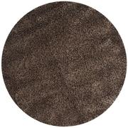 Safavieh California Shag Round Area Rug, 4' x 4' (SG151-8181-4R)