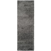 "Safavieh California Shag Runner, 27"" x 132"", Dark Grey (SG151-8484-211)"