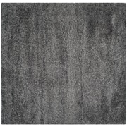 Safavieh California Shag Square Area Rug, 4' x 4', Dark Grey (SG151-8484-4SQ)