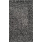 "Safavieh California Shag Area Rug, 63"" x 91"", Dark Grey (SG151-8484-5)"
