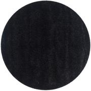 Safavieh California Shag Round Area Rug, 4' x 4', Black (SG151-9090-4R)