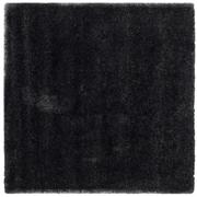 "Safavieh California Shag Area Rug, 80"" x 80"", Black (SG151-9090-7SQ)"