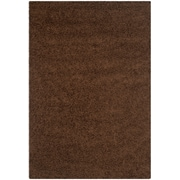"Safavieh Athens Shag Area Rug, 61"" x 91"", Brown (SGA119A-5)"