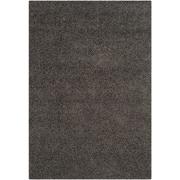 """Safavieh Athens Shag Area Rug, 48"""" x 72"""", Dark Grey (SGA119C-4)"""