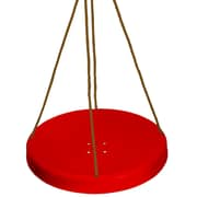 """Danawares Sky Saucer, 28 x 28"""", Red with Brown Rope (32001)"""