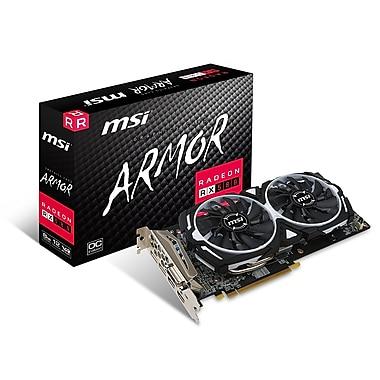 MSI Radeon RX580 Armor 8G OC Graphics Card (RX580ARMOR8GOC)