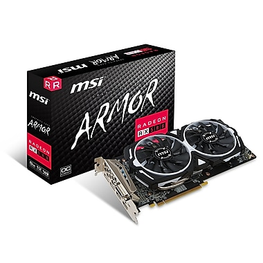 MSI Radeon RX580 Armor 8G OC Graphics Card