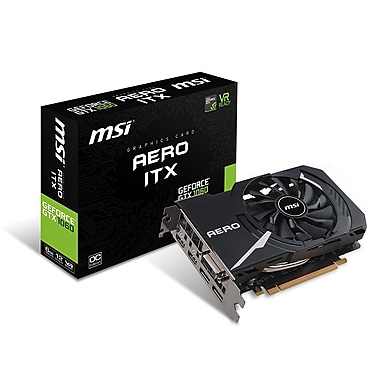 MSI GeForce GTX 1060 Aero ITX 6G OC Graphics Card (GTX1060AEITX6GOC)