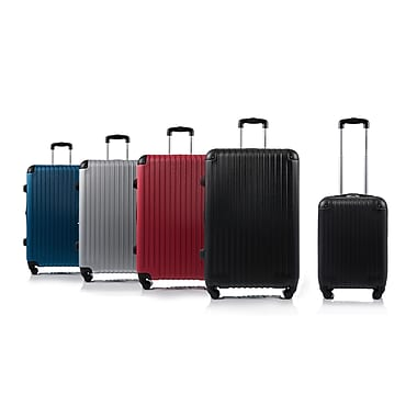 CHAMPS Luggage TOURIST Collection 2-Piece Hard Side 4-Wheeled Expandable Luggage Set