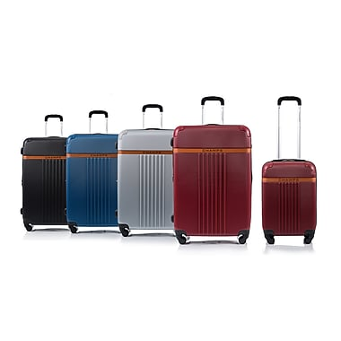 CHAMPS Luggage VINTAGE Collection 2-Piece Hard Side 4-Wheeled Expandable Luggage Set