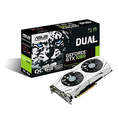 Asus Dual GeForce GTX1060 6GB GDDR5 Graphics Card