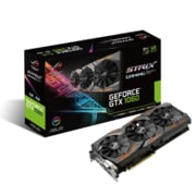 Asus – Carte graphique NVIDIA GeForce GTX1060, GDDR5 de 6 Go (STRIX-GTX1060-O6G-GAMING)