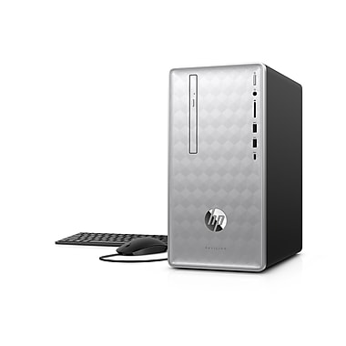 HP Pavilion Desktop PC, AMD A10-9700 3.50GHz CPU, 8GB RAM, 1TB HDD, AMD Radeon R7 Graphics, Windows 10 Home