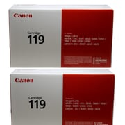 Canon 119 Black Toner Cartridge, 2/Pack (3479B013)
