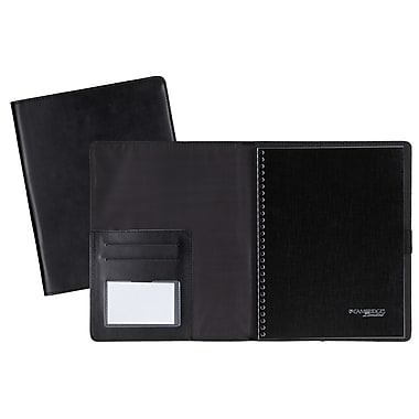 Cambridge® - Système de cahier de notes Limited Business, rechargeable, 9-1/2 po x 6-5/8 po, similicuir