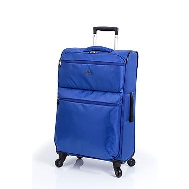 Skyway Bridgeport - Valise à roulettes multidirectionnelles, 24 po, bleu