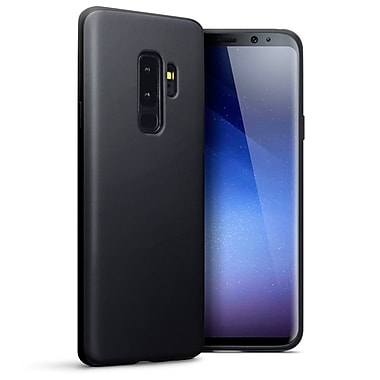 LBT Samsung Galaxy S9 Plus Matte Gel Skin, Black (S9PBK1)