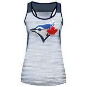 New Era Ladies' Toronto Blue Jays Space Dye & Sequin Tank Top