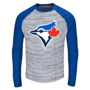 New Era Toronto Blue Jays Space Dye Long Sleeve Raglan